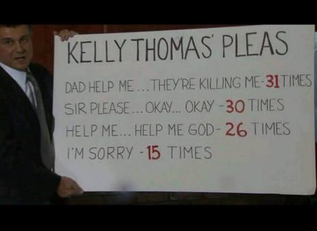 Kelly Thomas Pleas for Help