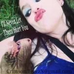 the evil pit bull kisss