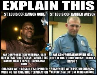 racist cops