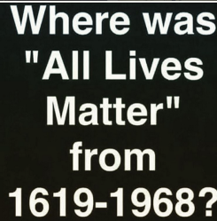 all lives matter blue lives black lives white lives