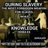 educated black man knowledge is power