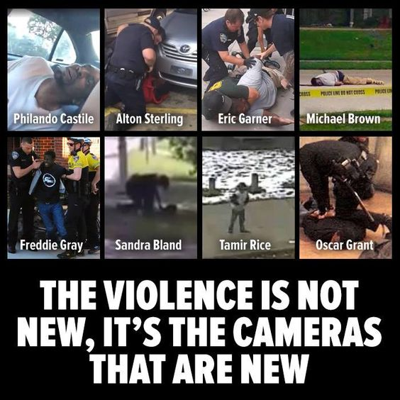 police brutality police killings racism is not new cameras are new