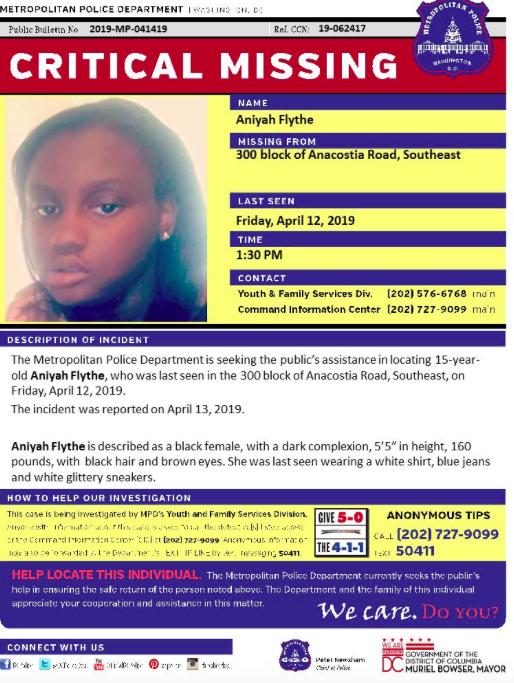 missing black child amber alert