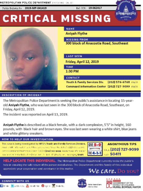 missing black child amber alert